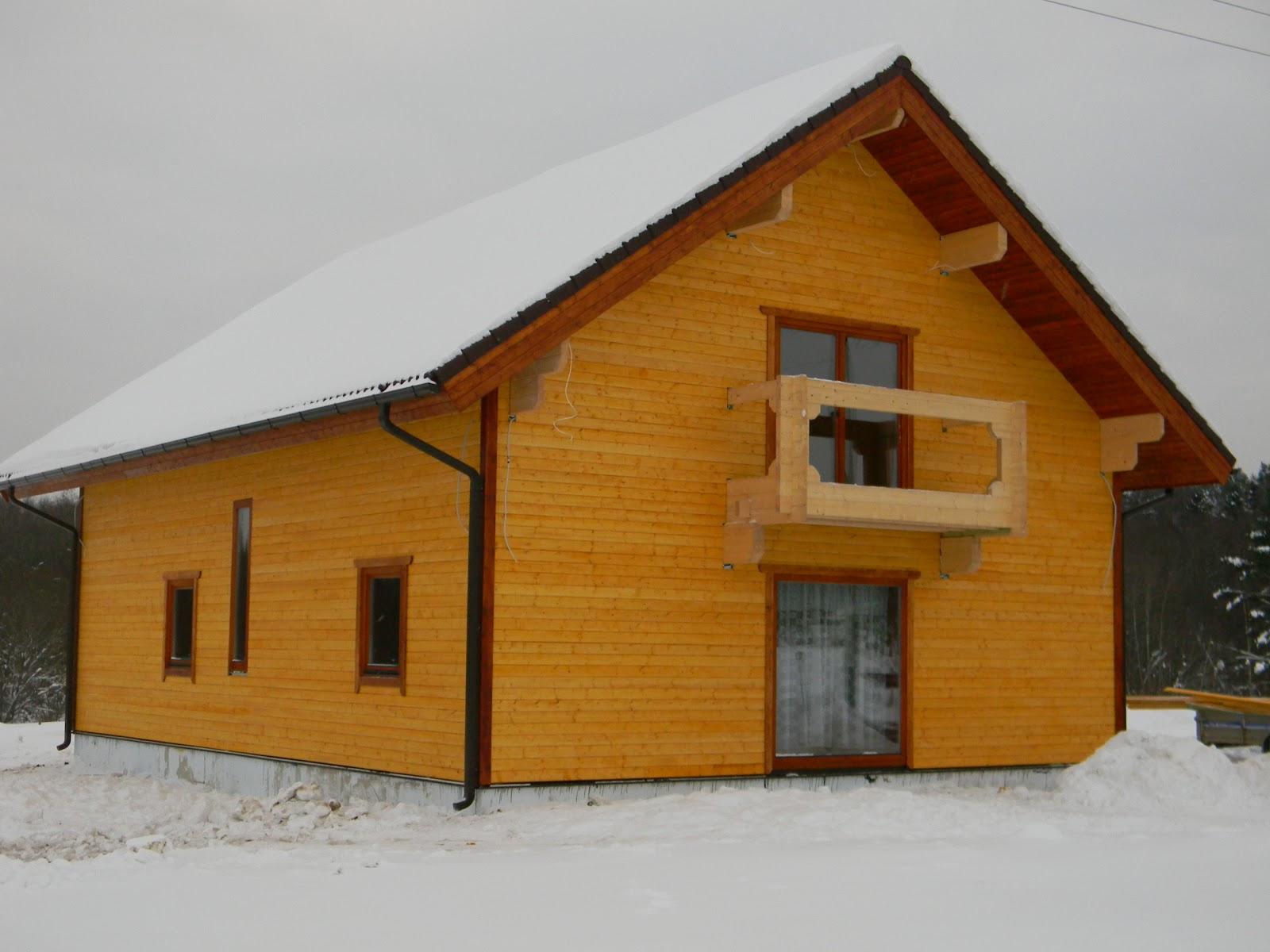 blockhaus wohnblockhaus mit isover w rmed mmung monier dach schiedel schornstein entworfen. Black Bedroom Furniture Sets. Home Design Ideas