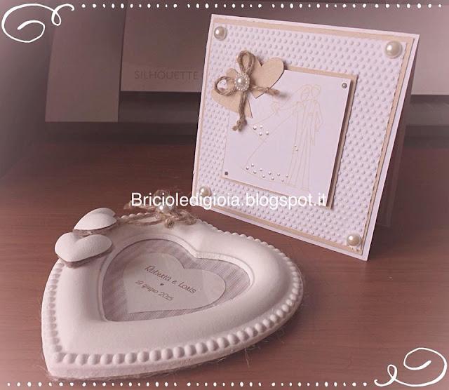 Briciole di gioia un cuore per gli sposi for Un costo di cornice