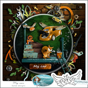 My Car by Kandi Designs