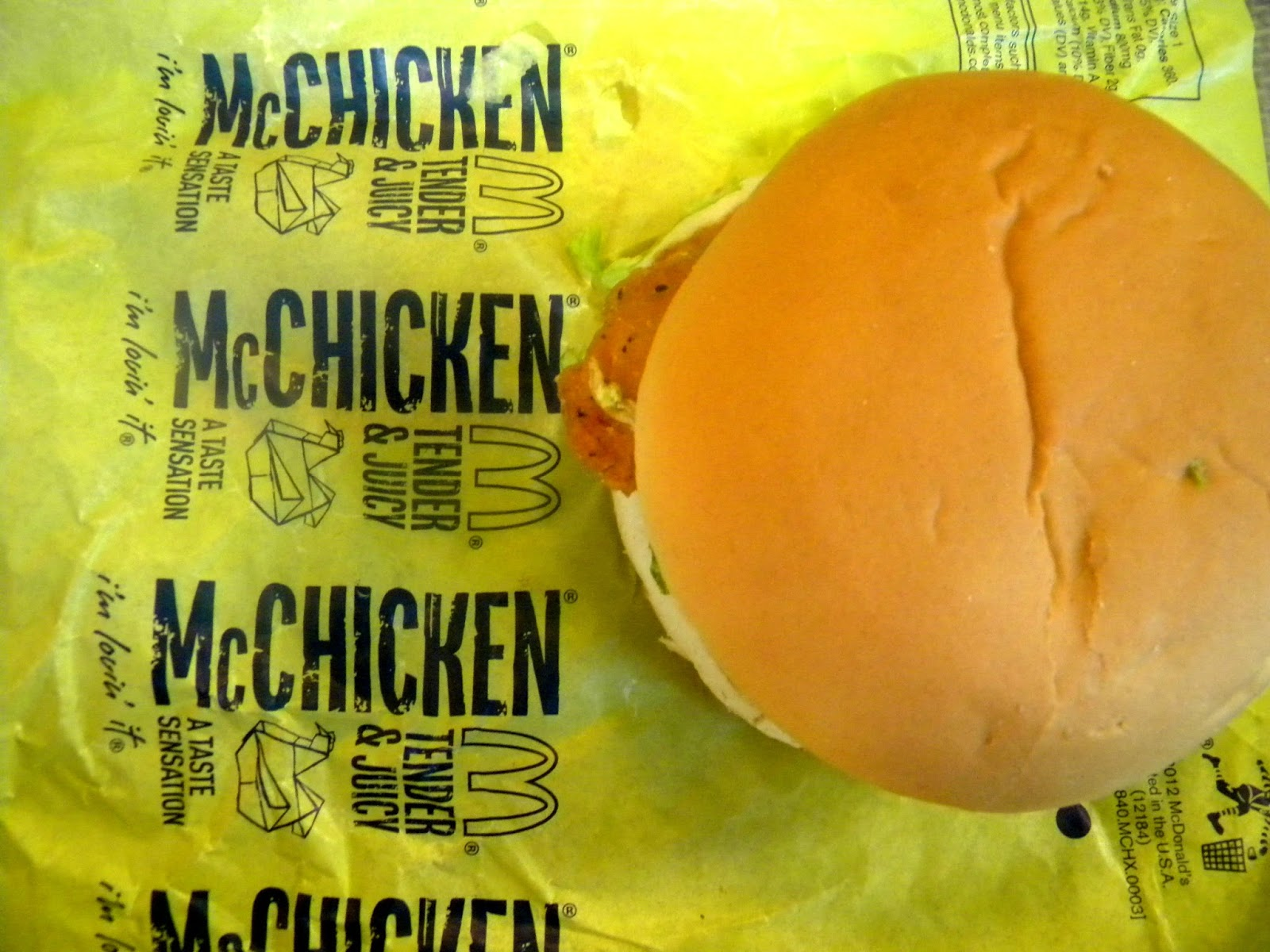McChicken photo/editing by sookietex
