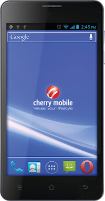 cherry mobile titan 5-inch dual-core android ics php 6,499