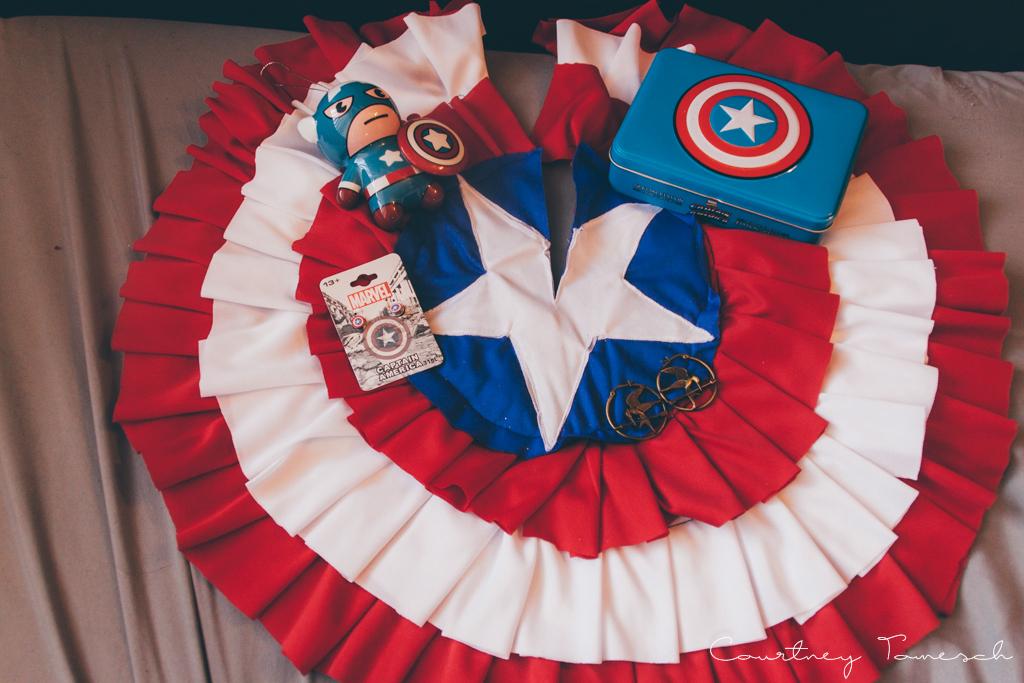 Courtney Tomesch What I Got For Christmas 2015 Captain America