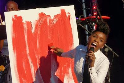 """Janelle Monáe en directo en """"El Día de la Música"""""""