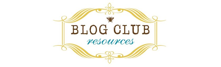 Blog Club Resources