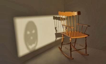 Wobbly Chairs: Secret Relationship Killer-chair shadow wall