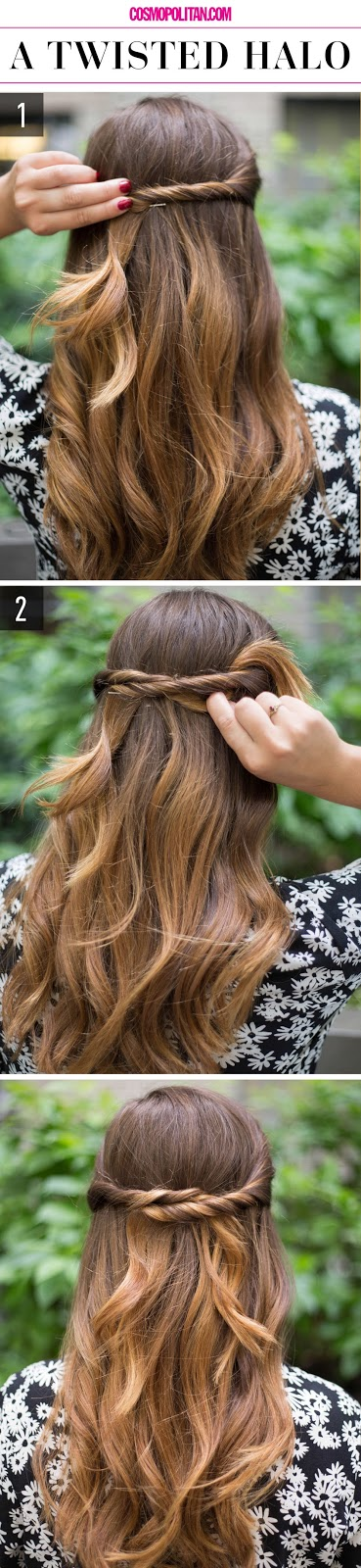 15 super easy hairstyles for lazy girls who can t even diy craft