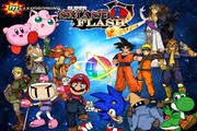 لعبة قتال ابطال الانمي ضد ابطال الكرتون Super Smash Flash
