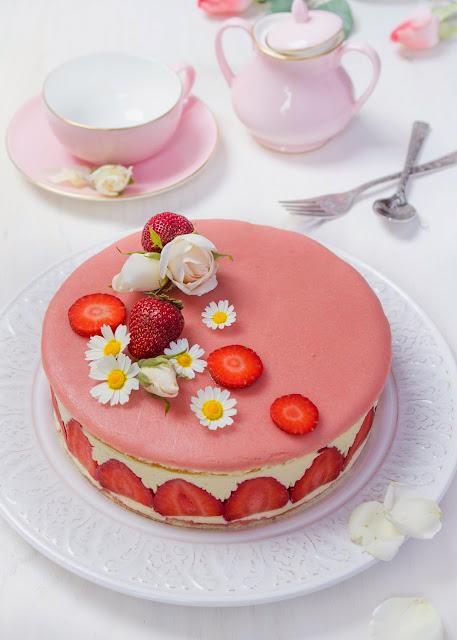 tarta-fresas-crema-mousseline