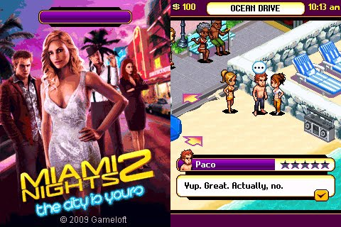 240x320 Java Game: Miami Nights 2 | Corby 2 Downloads