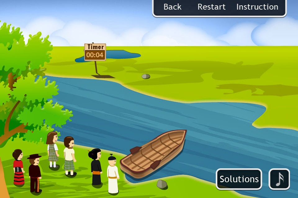 best brain teasers hard river crossing logic puzzle