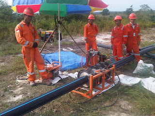Project Instalasi Pipa HDPE di Jambi