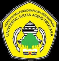 Logo Untirta - Universitas Sultan Ageng Tirtayasa Banten