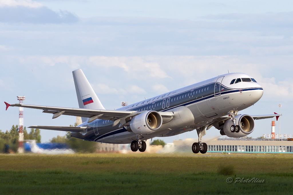 "Airbus A320, Аэрофлот """