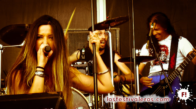 Ocker en el festival Leyendas del Rock 2015
