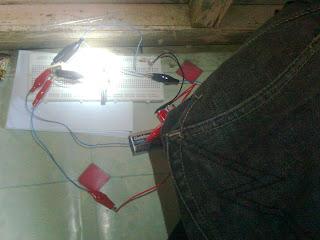 rangkaian led otomatis