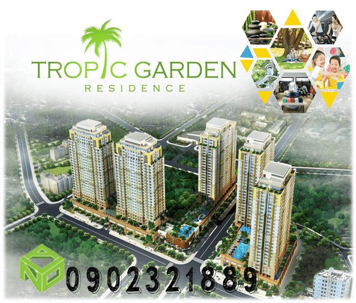 du an can ho tropic garden
