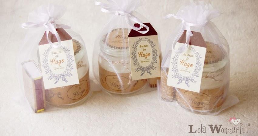 Lola wonderful blog detalles bautizo kit de velas y galletas fondant - Que regalar en un bautizo al bebe ...