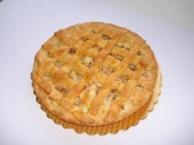 Pie de Manzana enrejillado