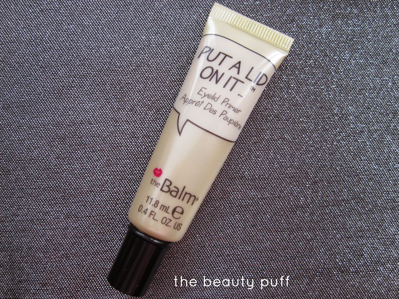 thebalm put a lid on it eye primer - the beauty puff