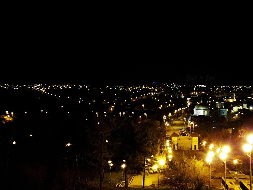 panorama tulcea monumentul independentei noaptea