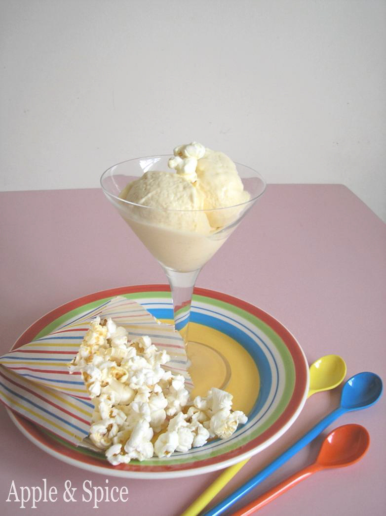 Apple & Spice: Heston Inspired Popcorn Ice Cream!