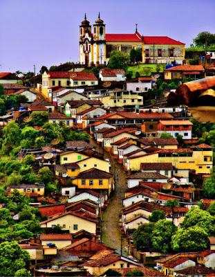 Ciudad de Oro Negro Brasil - Ouro Prieto Brazil