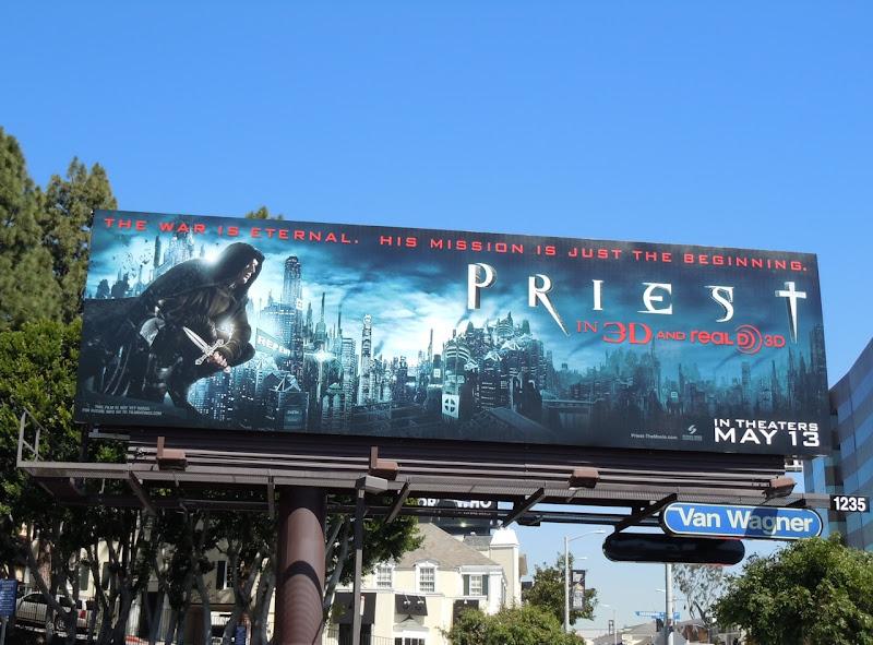 Priest film billboard