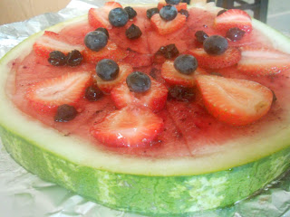 kids fruit pizza