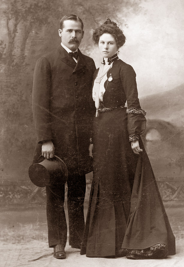 Harry Longabaugh (A.K.A. the 'Sundance Kid') and Etta Place