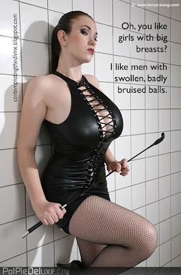She likes them bruised