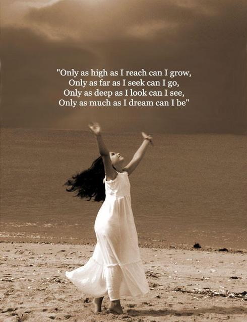 As High As I Reach A pravsworls Inspirational Quote