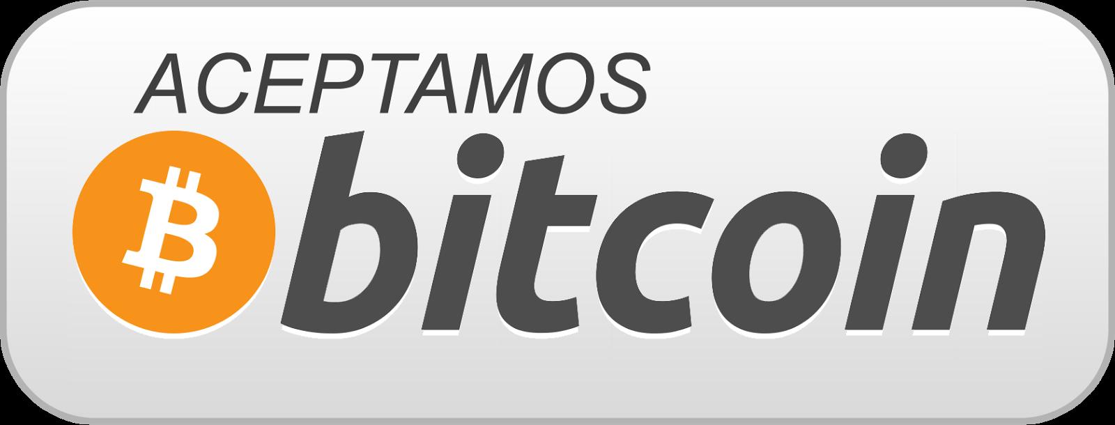 Ya aceptamos Bitcoins