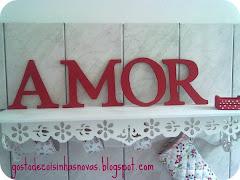 Decore seu quarto com AMOR