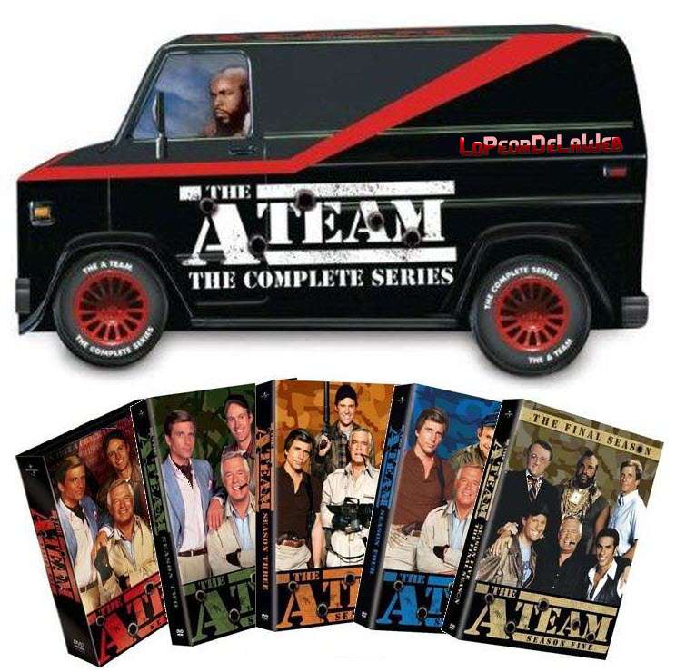 Brigada A |The A-Team |Serie |DVD-Rip |Avi |Latino