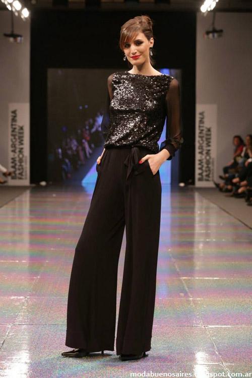 Adriana Costantini otoño invierno 2014 pantalones de moda.