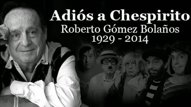Muere Roberto Gómez Bolaños