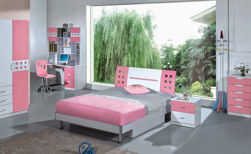 Chambre ado fille for Photo chambre ado fille