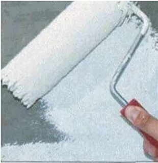 Инструменты для окрашивания осыпающихся стен
