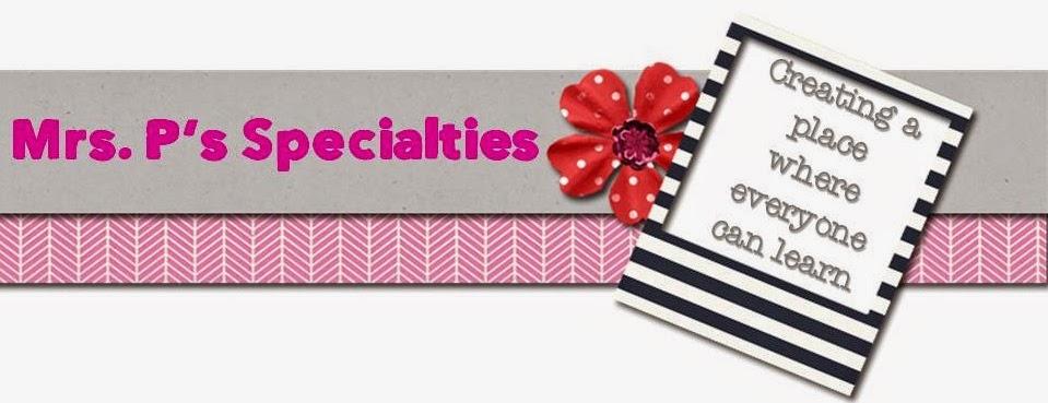 Mrs. P's Specialties!