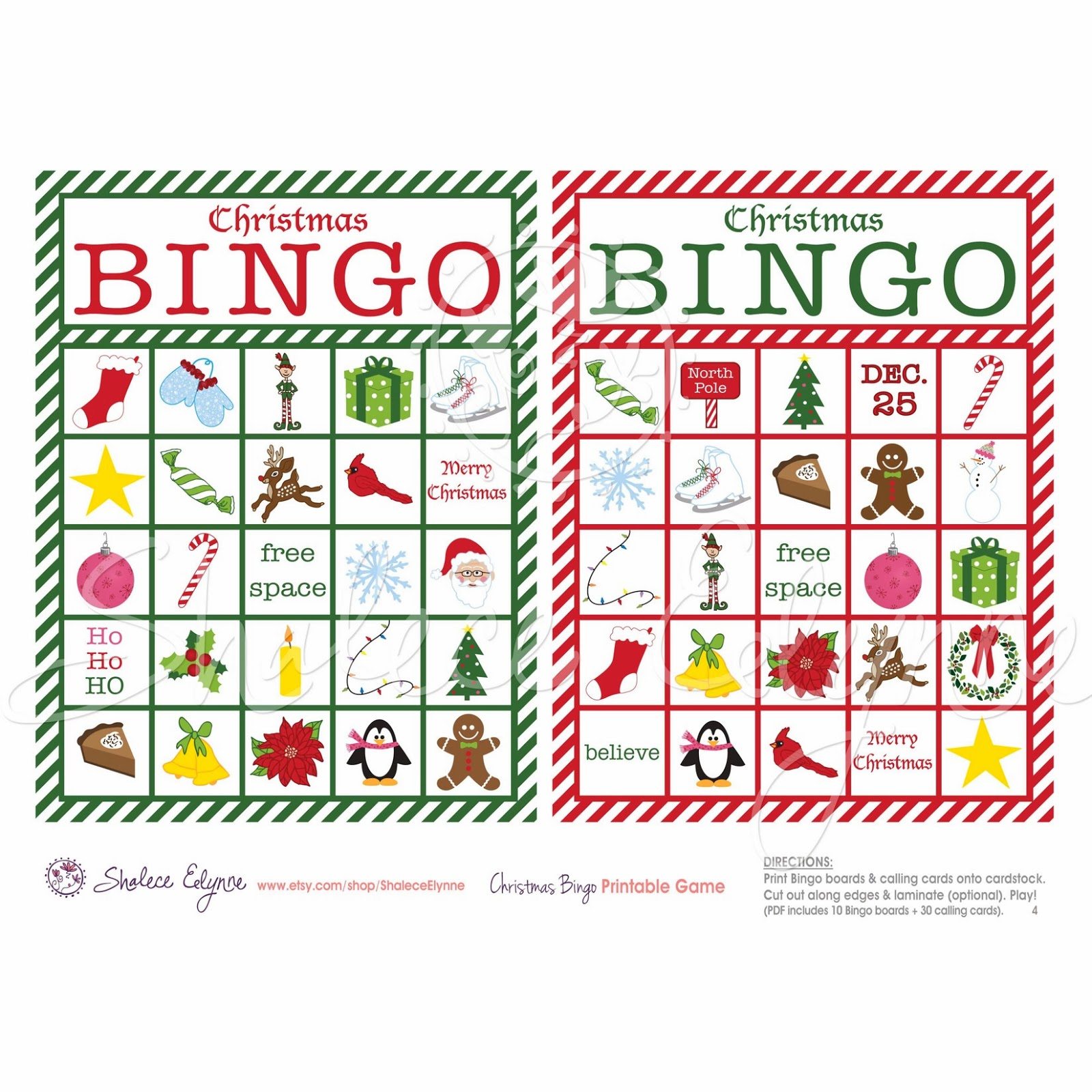 christian christmas bingo - photo #21