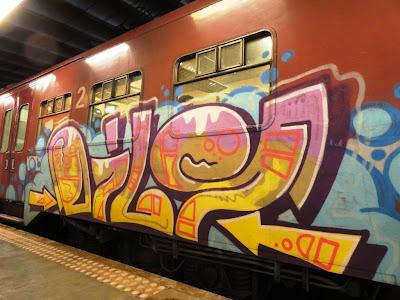 OILY graffiti
