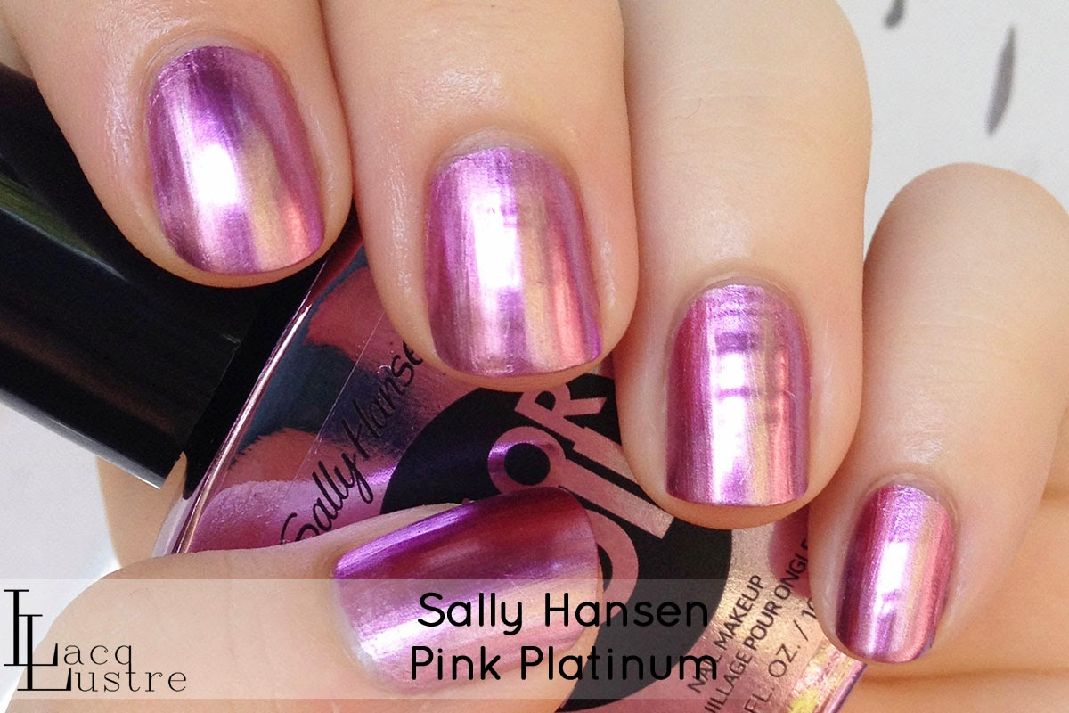 Sally Hansen Pink Platinum swatch