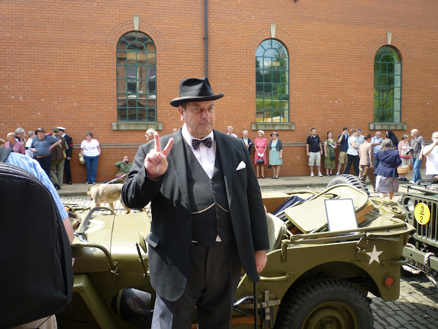Churchill re-enactment Crich