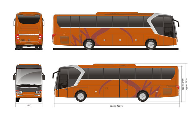 Legacy SKY by Laksana Touring Coach