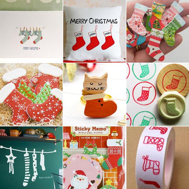 Milowcostblog domingos adorables calcetines de navidad - Calcetines de navidad personalizados ...