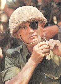 General MOSHE DAYAN (20/05/1915 - 16/10/1981).