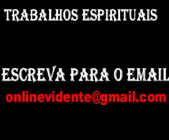 Trabalhos e Consultas Espirituais