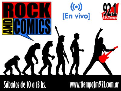 ROCK AND COMICS
