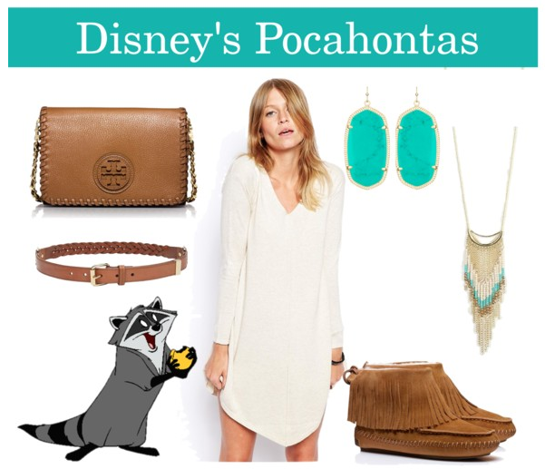 pocahontas themed adult outfit