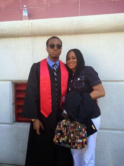 bukky wright son graduate